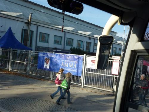 Z avtobusom smo prispeli na Ammin program v Munchen