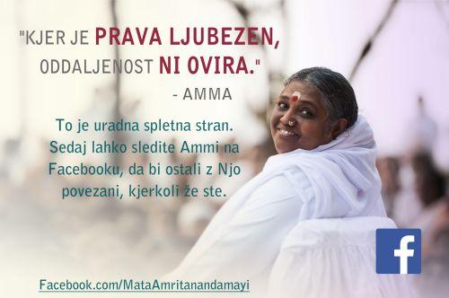 Amma na Facebooku
