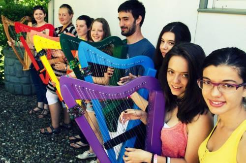 Učenje harfe