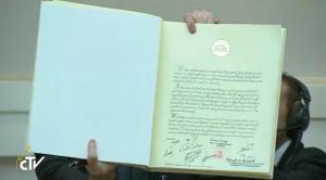 Podpisana deklaracija