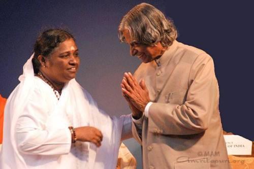 Amma in bivši predsednik Abdul